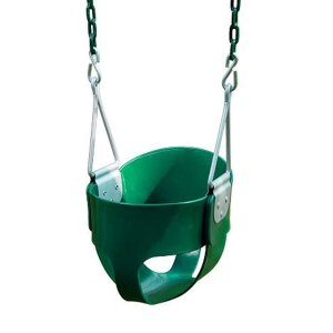 Siège de balançoire pour bébé - chaines plastifiées