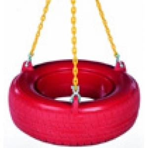 Balancoire pneu - chaines plastifiées