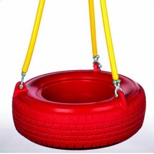 Balancoire pneu - chaines softgrip