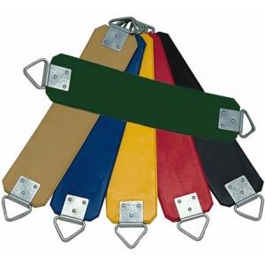 Siège de balançoire souple - chaines plastifiées