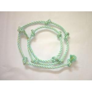 Corde à noeud pour mur d'escalade