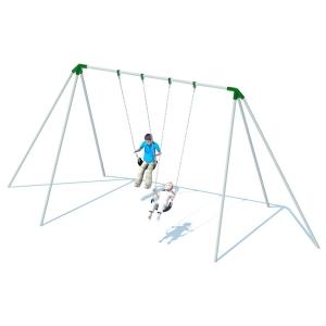 Structure de balançoires trip pod  8' - 2 places