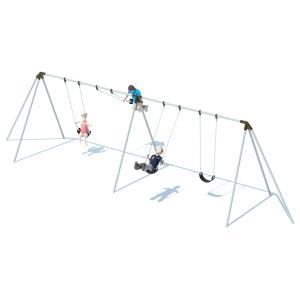Structure de balançoires trip pod  8' - 4 places