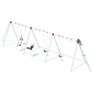 Structure de balançoires trip pod  8' - 6 places