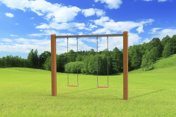 Outdoor Swing Set The Luxury Swing Jeux Modul Air
