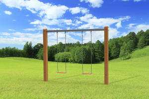 outdoor playset The Luxury Swing