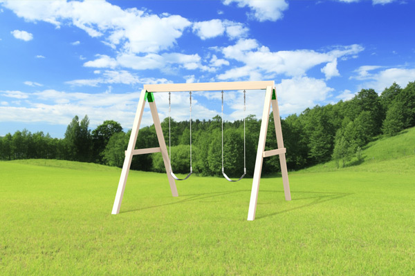 Outdoor Swing Set The Swing Beam Jeux Modul Air