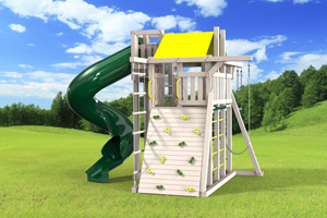 outdoor playset The Turbo Compact