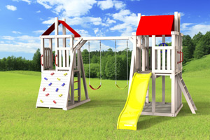 outdoor playset The Demi-tour 4x6