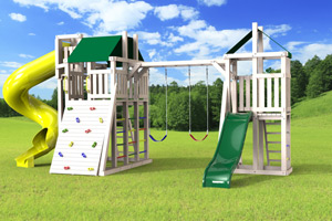 outdoor playset The Turbo Demi-tour