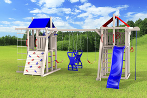 outdoor playset The Duplex 4x4