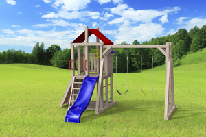 outdoor playset The Simplex 4x4