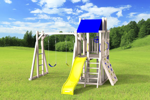 outdoor playset The Simplex 4x6